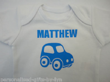 PERSONALISED BABY VEST - BODYSUIT